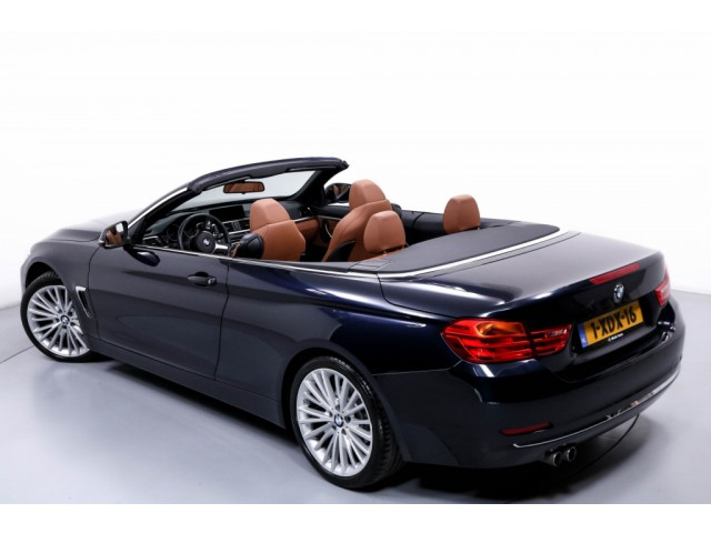 BMW 4 Serie 428i High Executive Cabriolet Automaat Navi Xenon Leder Camera Head-Up Display ECC LMV PDC Dealer Onderhouden 37dKM!!