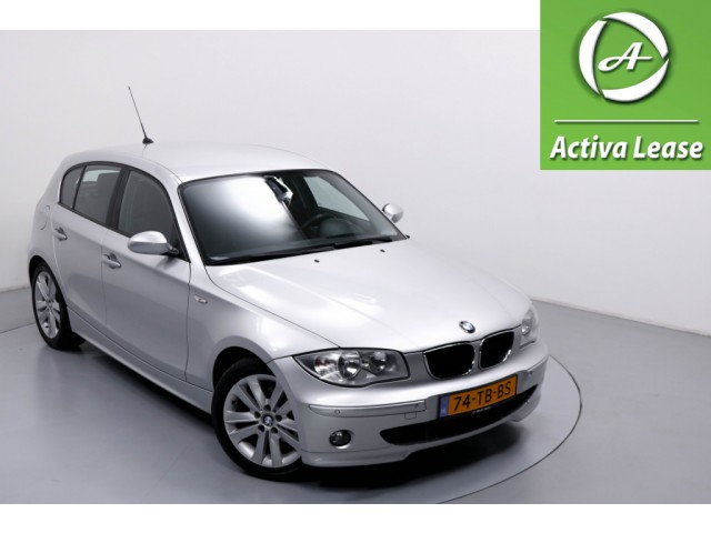 BMW 1 Serie 120i High Executive Automaat Navi Cruise Control ECC LMV PDC