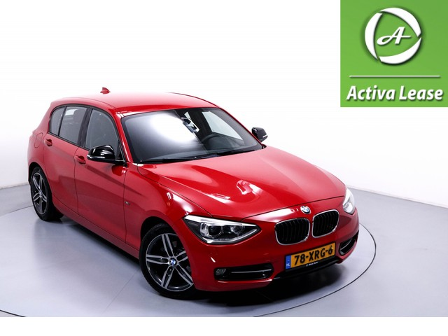 BMW 1 Serie 116i Business Navi Airco Cruise Control Trekhaak Afneembaar LMV PDC LED