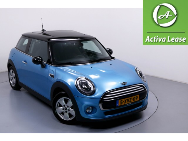 MINI Mini 1.5 Cooper Salt NIEUW MODEL Navi Head-Up Display Stoelverwarming ECC LMV PDC LED Dealer Onderhouden 61dKM!!