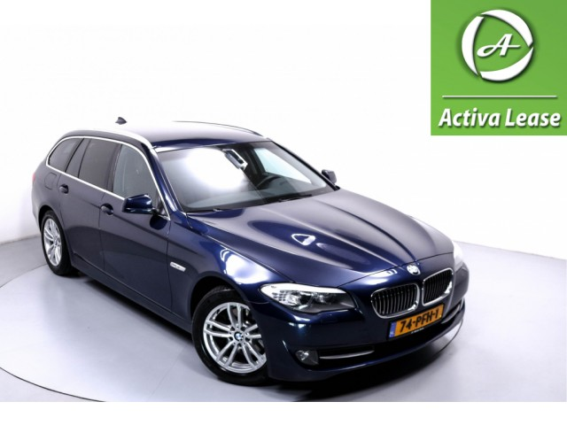 BMW 5 Serie 520d High Executive Automaat Navi Xenon Leder Stoelverwarming ECC LMV PDC