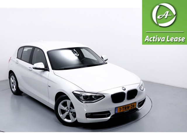 BMW 1 Serie 114i EDE Efficient Dynamics Edition Executive Upgrade Sportstoelen Navi Xenon Bleutooth Cruise Control  ECC LMV PDC LED DVD