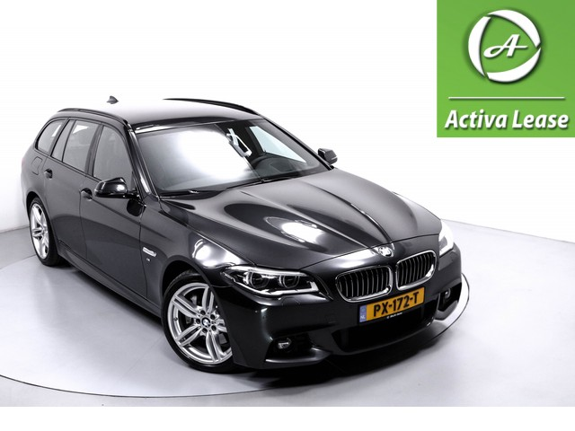 BMW 5 Serie 530xd High Executive Automaat Navi Xenon Leder Stoelverwarming Head-Up Display Sportstuur Achteruitrijcamera ECC LMV PDC LED USB