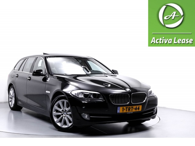 BMW 5 Serie 520d High Executive Dealeronderhouden Navi Leder Sportinterieur Panoramadak Trekhaak Wegklapbaar