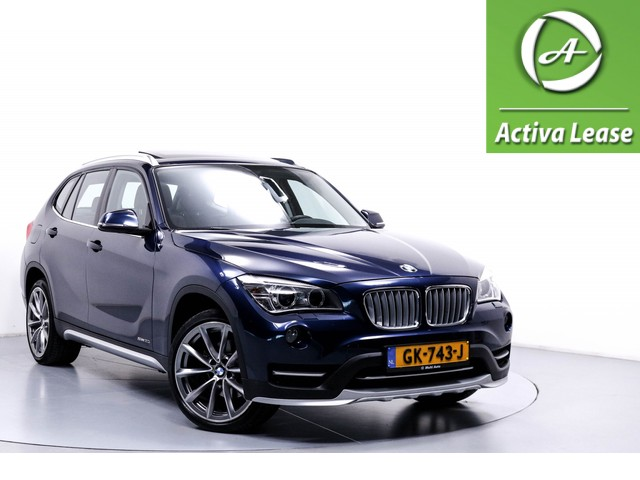 BMW X1 2.0i sDrive High Executive Automaat Stoelverwarming Leder Panoramadak Schuifdak Xenon ECC LMV PDC LED 55dKM!!