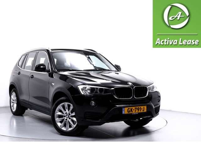 BMW X3 2.0i sDrive High Executive Automaat Head-Up Display Stoelverwarming Rondom Camera Leder Xenon Navi ECC LMV PDC LED 62dKM!!