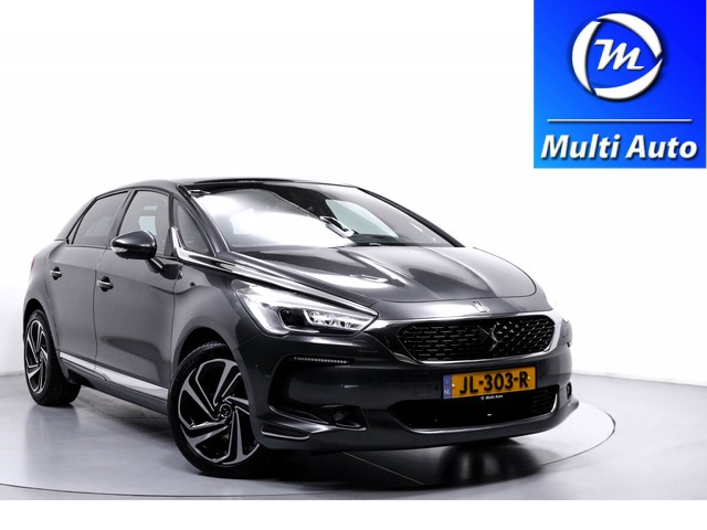DS DS 5 1.6 THP  165 PK Chic Navi  Leder ECC Panoramadak PDC Massagestoel Head UP Dealer Onderhouden NL Auto