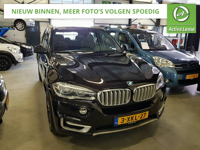 BMW X5 3.5i xDrive High Executive Dealer Onderhouden 1e Eigenaar NL-Auto 306PK!! Automaat Head-Up Display Sportstoelen Sportstuur Stoelverwarming Achteruitrijcamera Front Camera Panorama-Schuifdak Navi Leder LED ECC LMV PDC