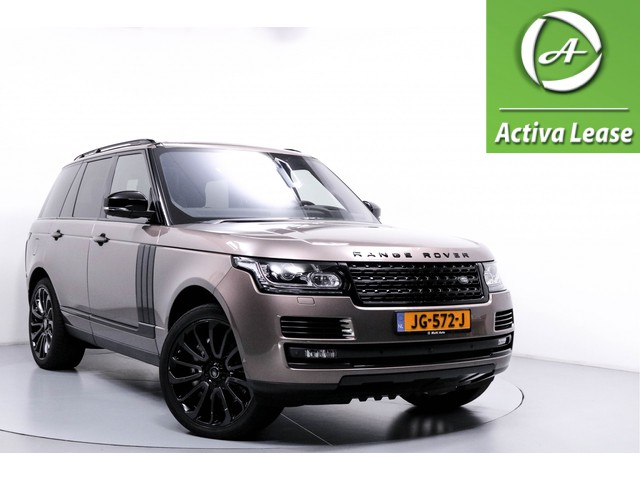 Land Rover Range Rover 4.4 SDV8 Autobiography Black Pack! Automaat Head-Up Display Stoelmassage Panorama-Schuifdak Navi Xenon Leder Full Options Dealer Onderhouden 72dKM!!