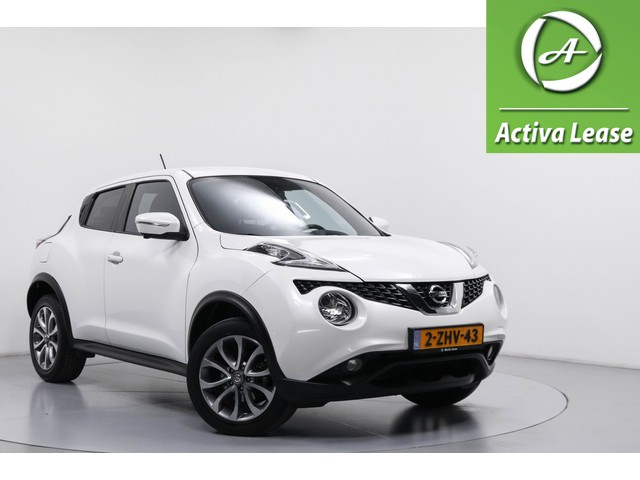 Nissan Juke 1.6 Connect Edition 71dKM! Automaat Rondomzicht Camera Keyless Navi LED ECC LMV PDC